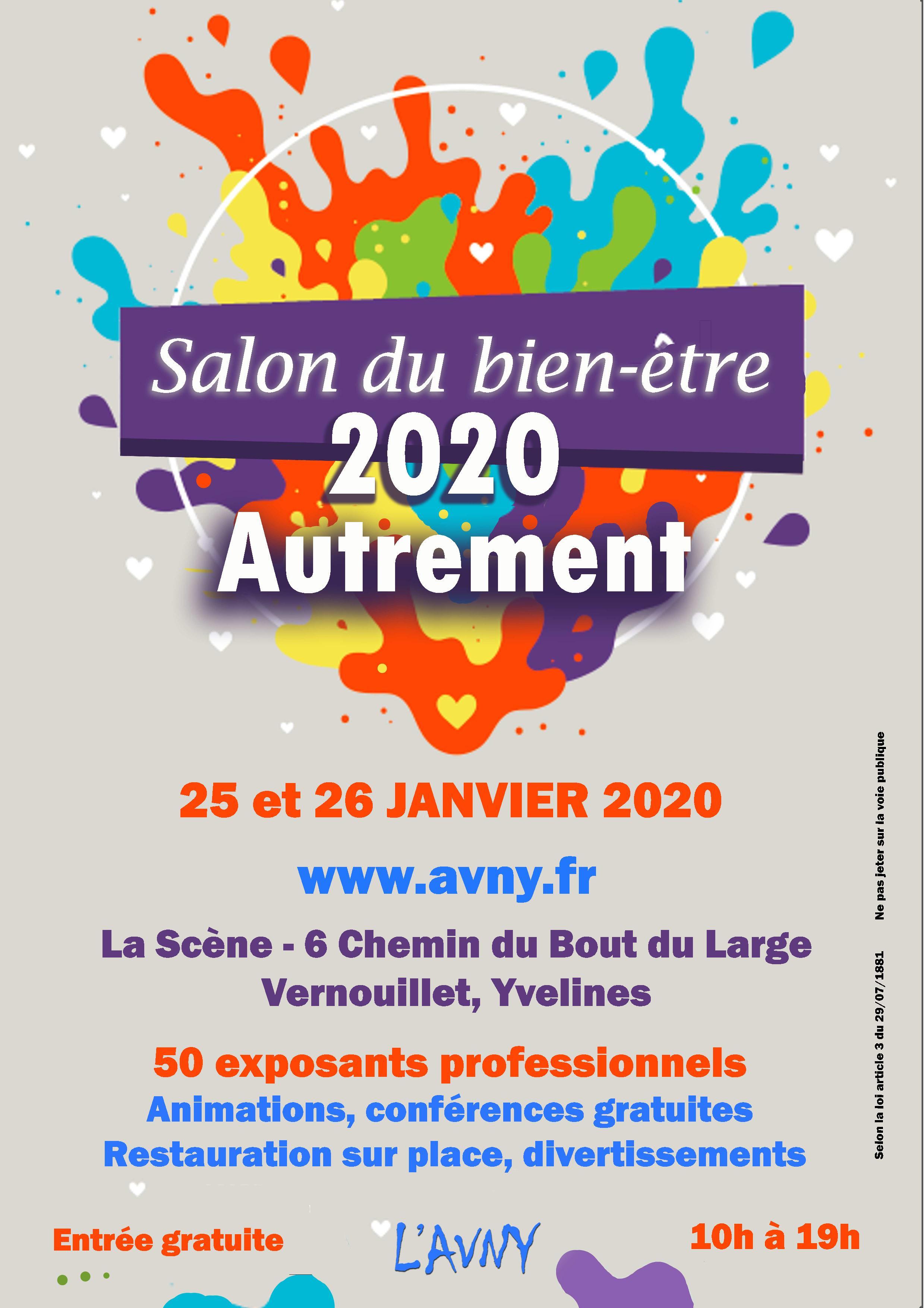Calendrier Des Salons Bien Etre 2020.Salon Du Bien Etre 2020 Autrement Vernouillet 78 01